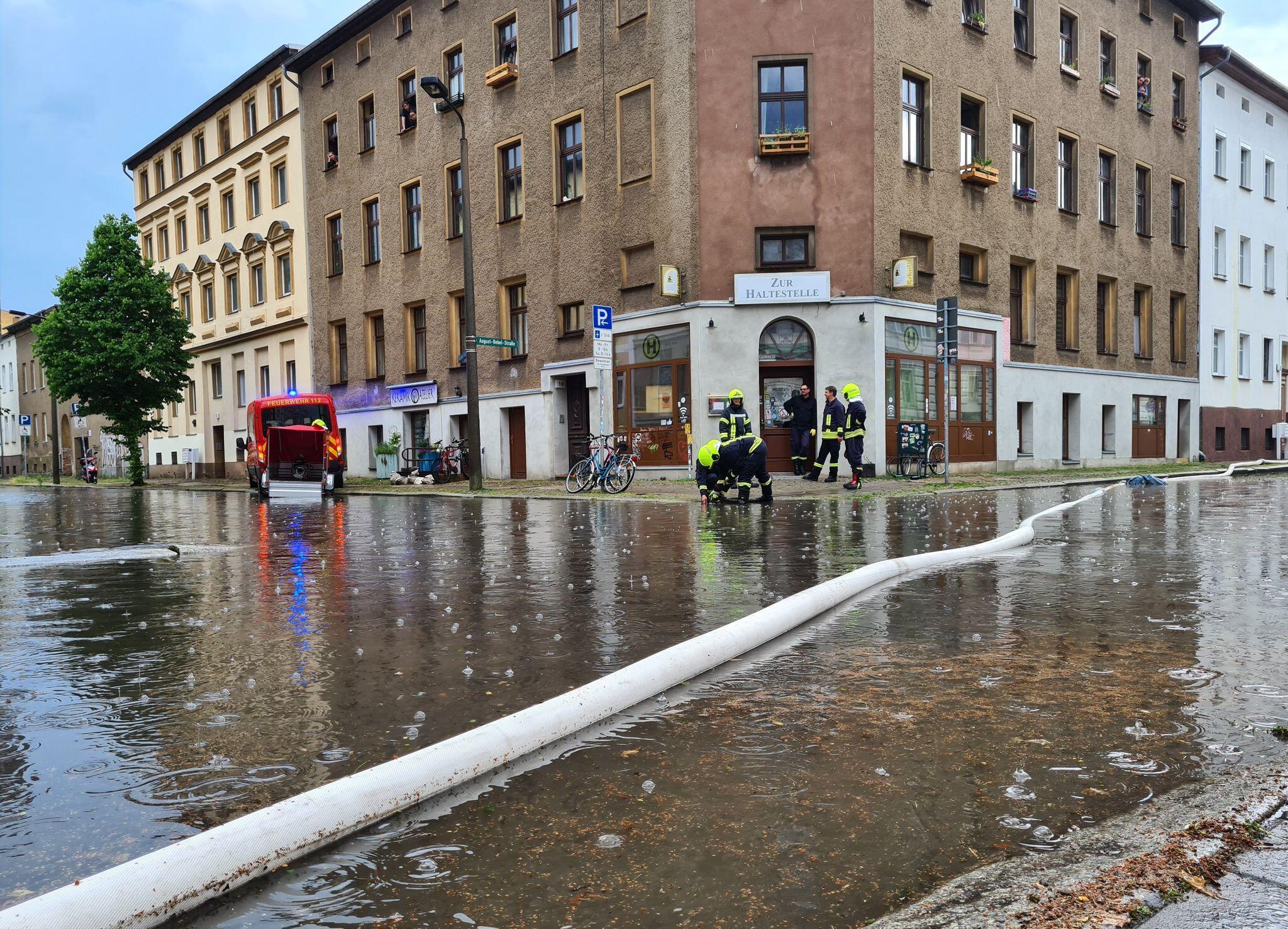 Bild zu Unwetter in Brandenburg