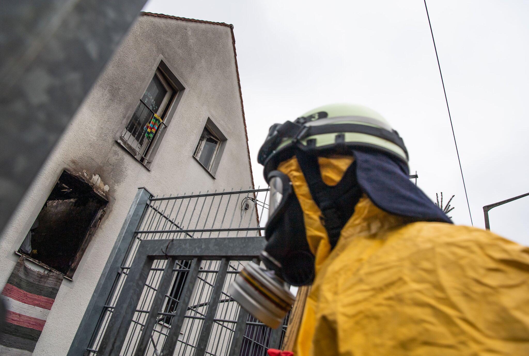 Bild zu Fire with four dead in Nuremberg