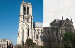Notre-Dame: Vorher & Nachher