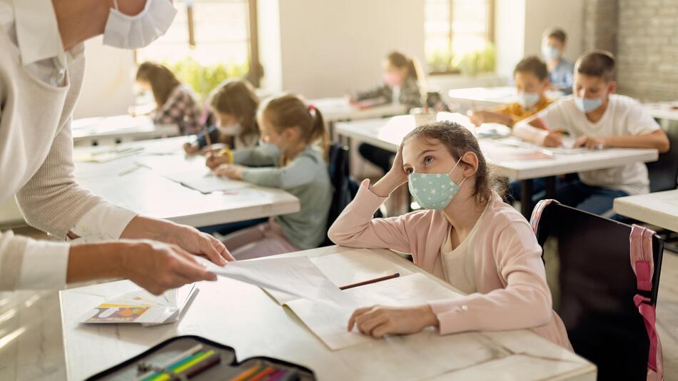 Masken, Grundschüler, sinnvoll
