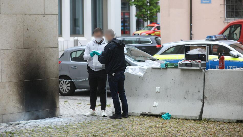 Synagoge in Ulm beschädigt