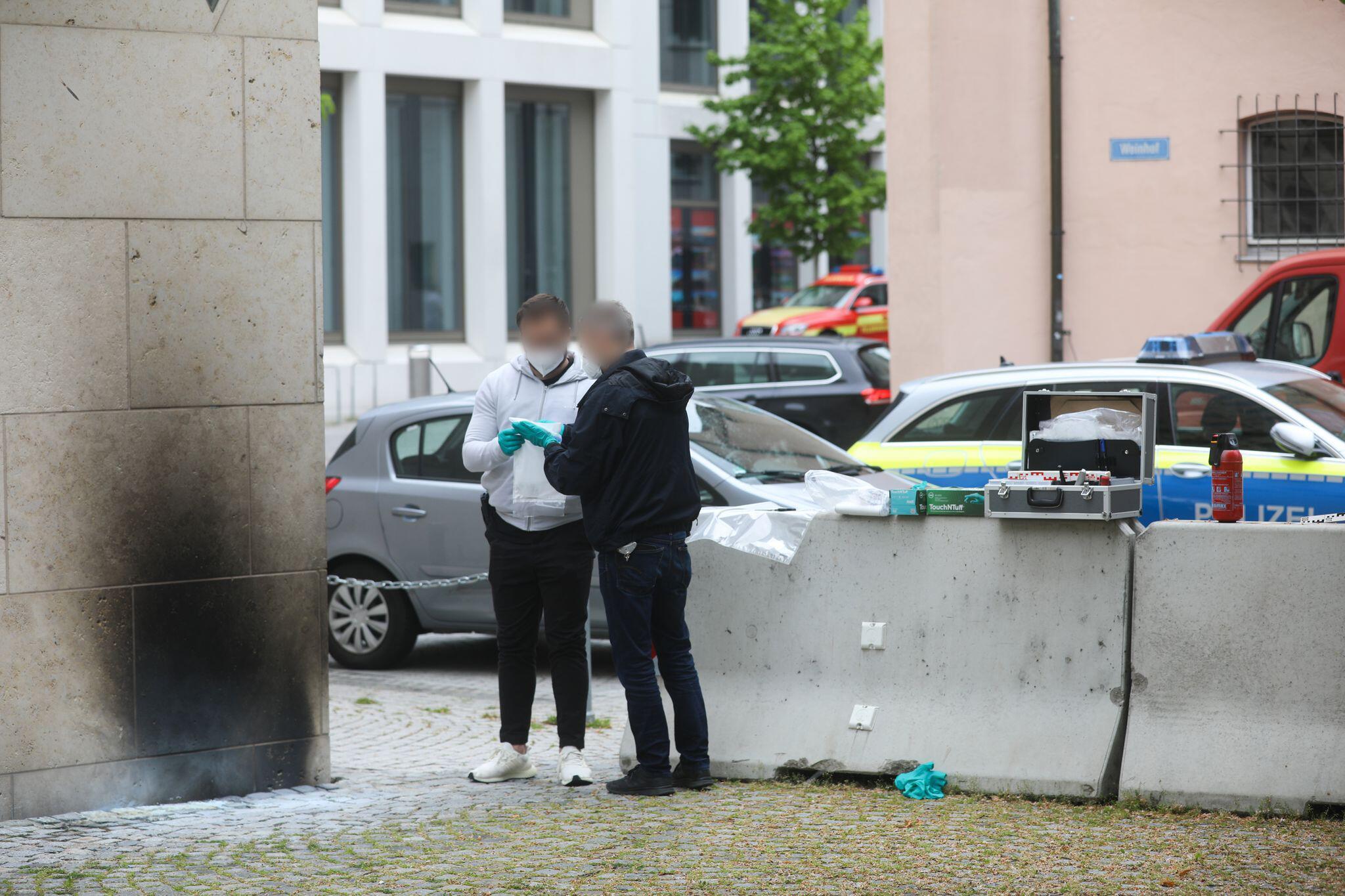 Antisemitismus: Staatsschutz ermittelt nach Brandanschlag auf Ulmer Synagoge