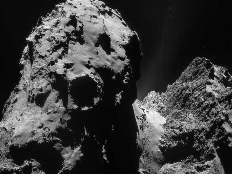 Bild zu Komet «67P/Tschurjumow-Gerassimenko»