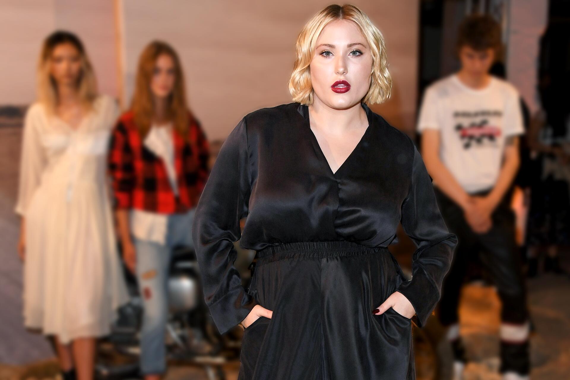 Bild zu Hayley Hasselhoff, Model, plus-size, Vorbild, Victoria Beckham