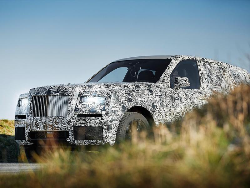 Bild zu Luxus-SUV Cullinan von Rolls-Royce