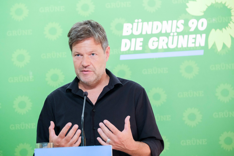 Bild zu Robert Habeck, Die Grünen
