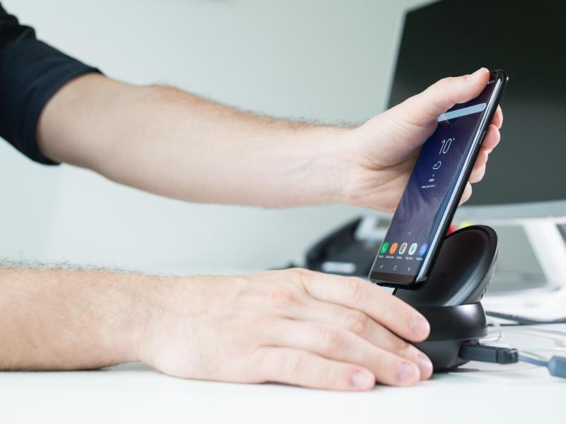 Bild zu Samsung wird aus dem Dock genommen