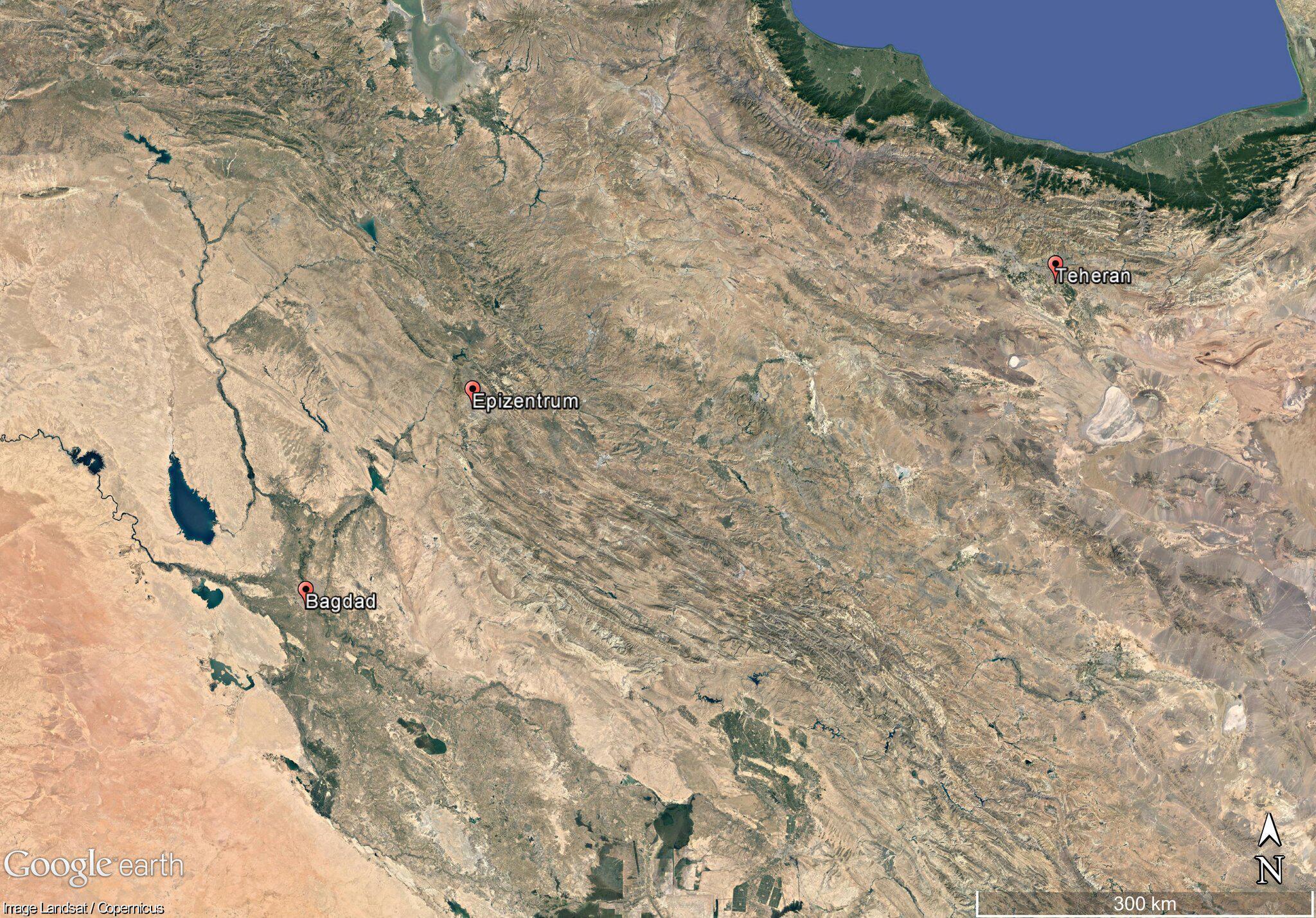 Bild zu Schweres Erdbeben zwischen Iran und Irak