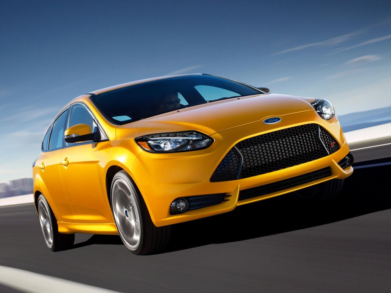 Bild zu 10. Platz: Ford Focus ST