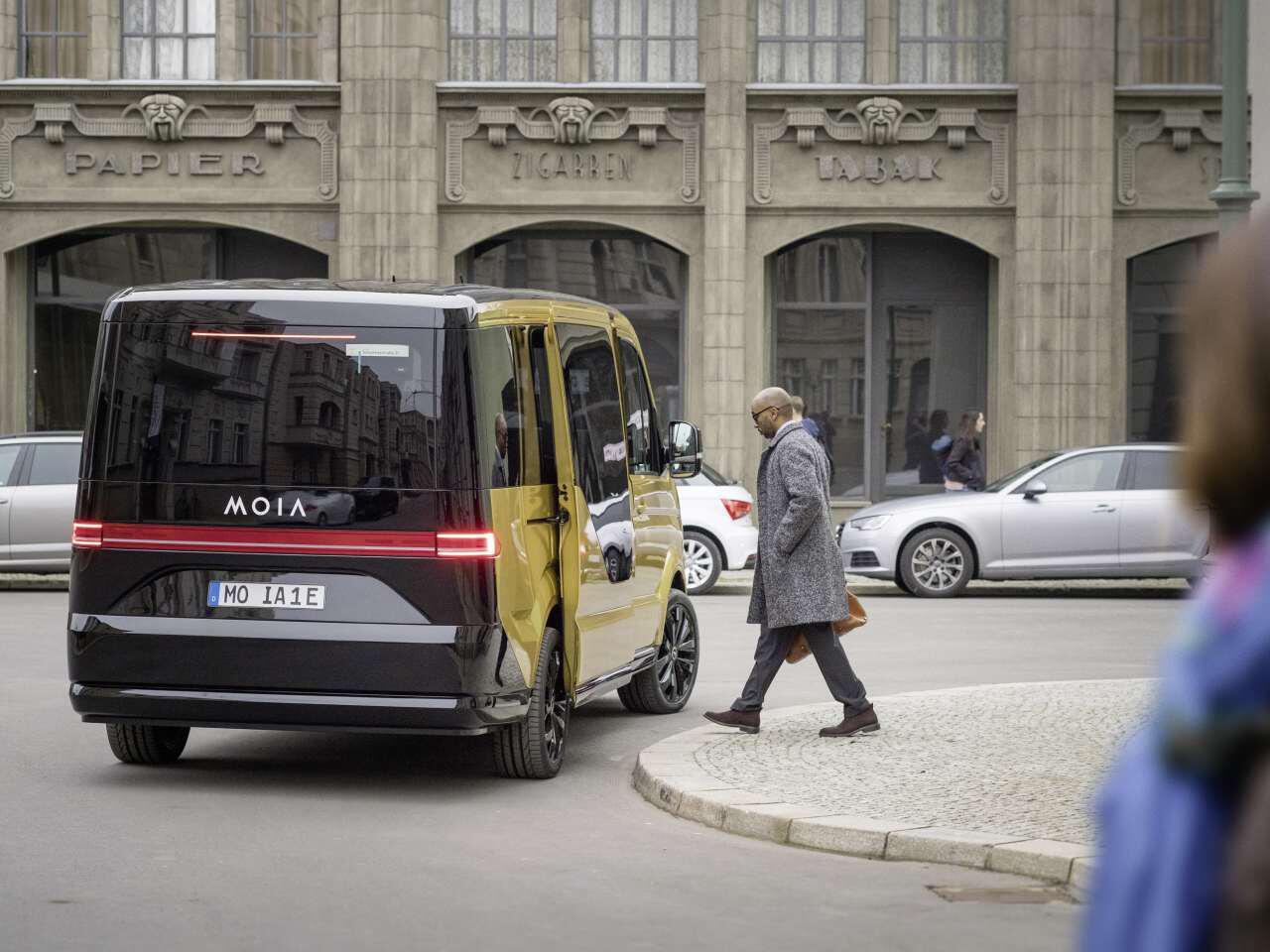Bild zu MOIA Ridesharing-Fahrzeug