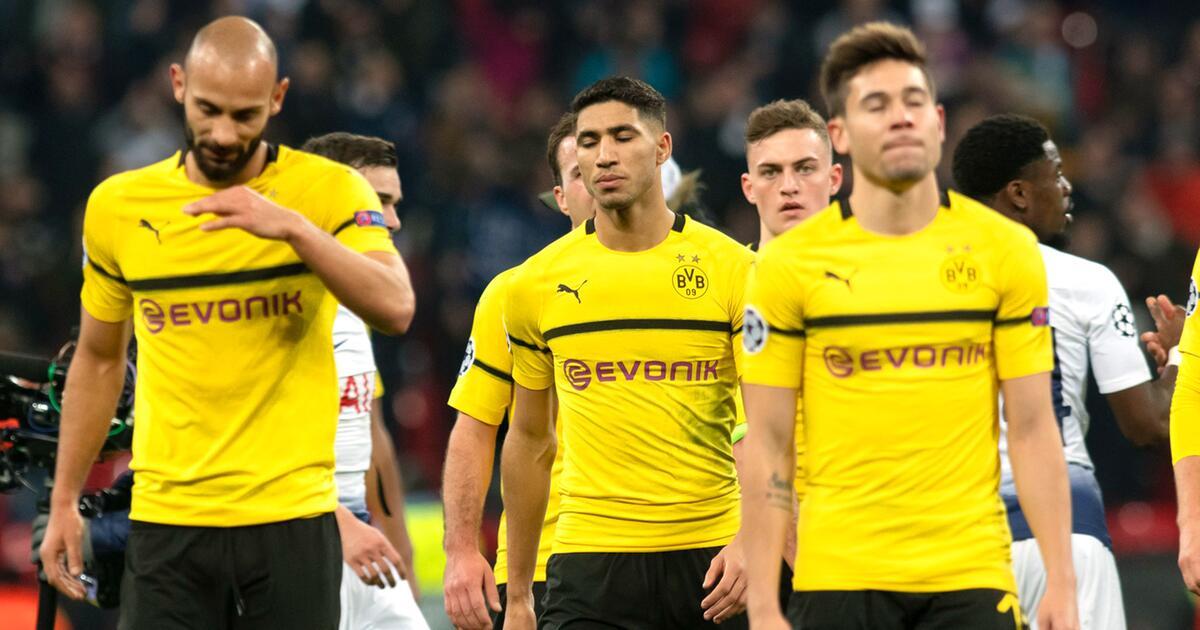 Tottenham Gegen Bvb: BVB Erlebt Debakel Gegen Tottenham Hotspur