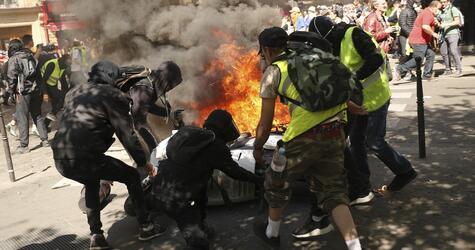 «Gelbwesten»-Proteste in Frankreich