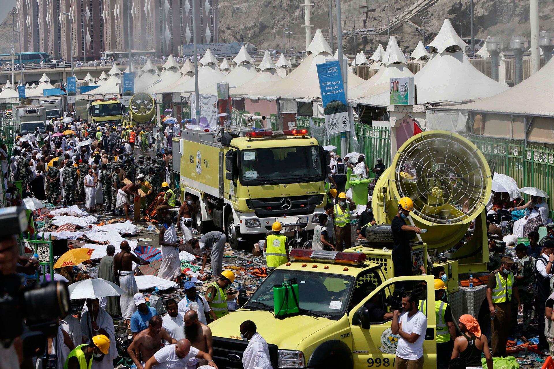 Bild zu Einsatz in Mekka