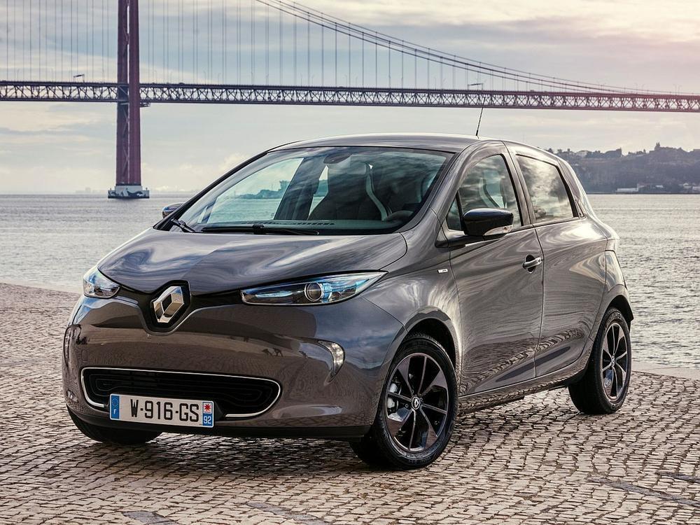 Bild zu Platz 1: Renault Zoe