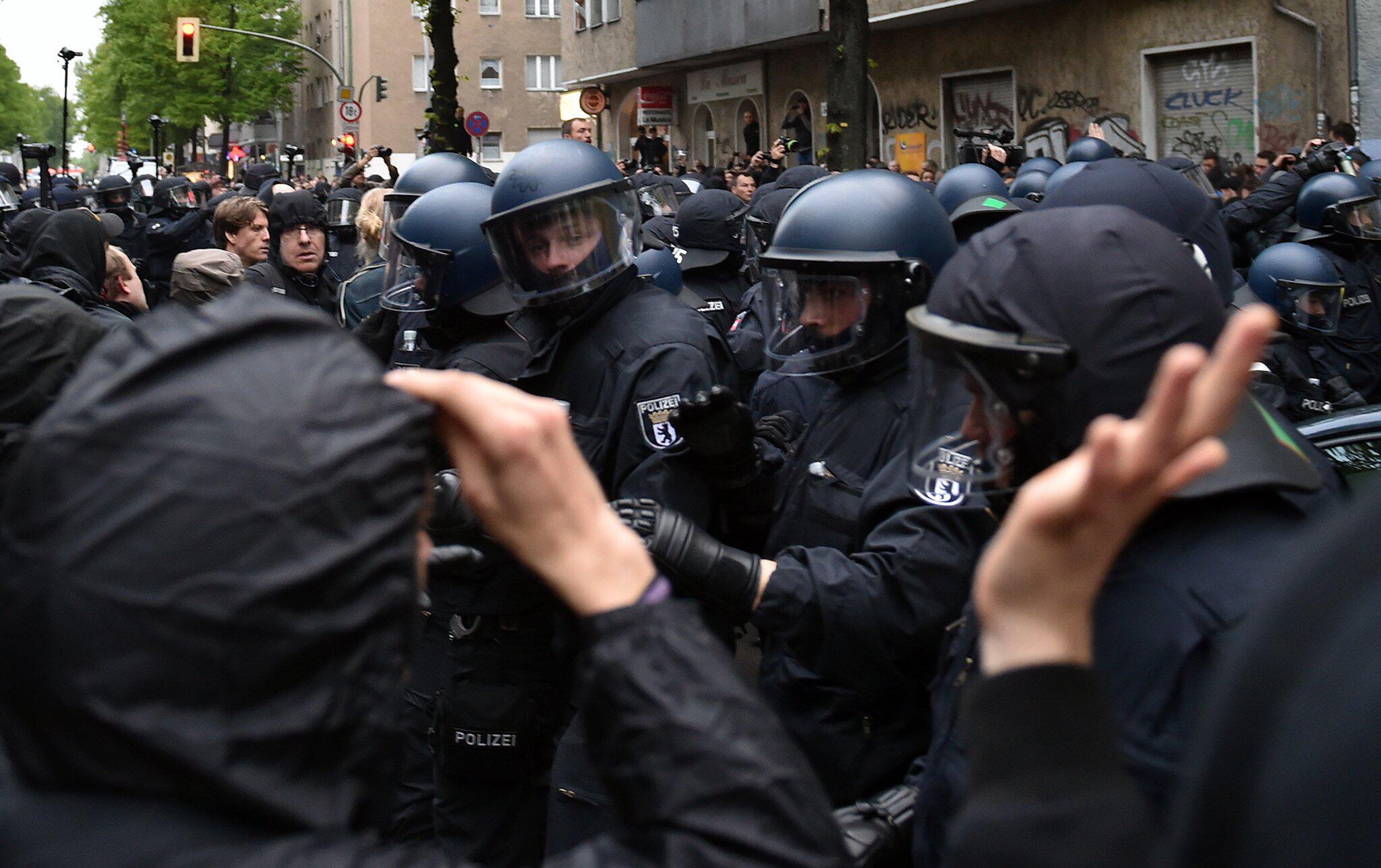 Bild zu 1. Mai in Berlin
