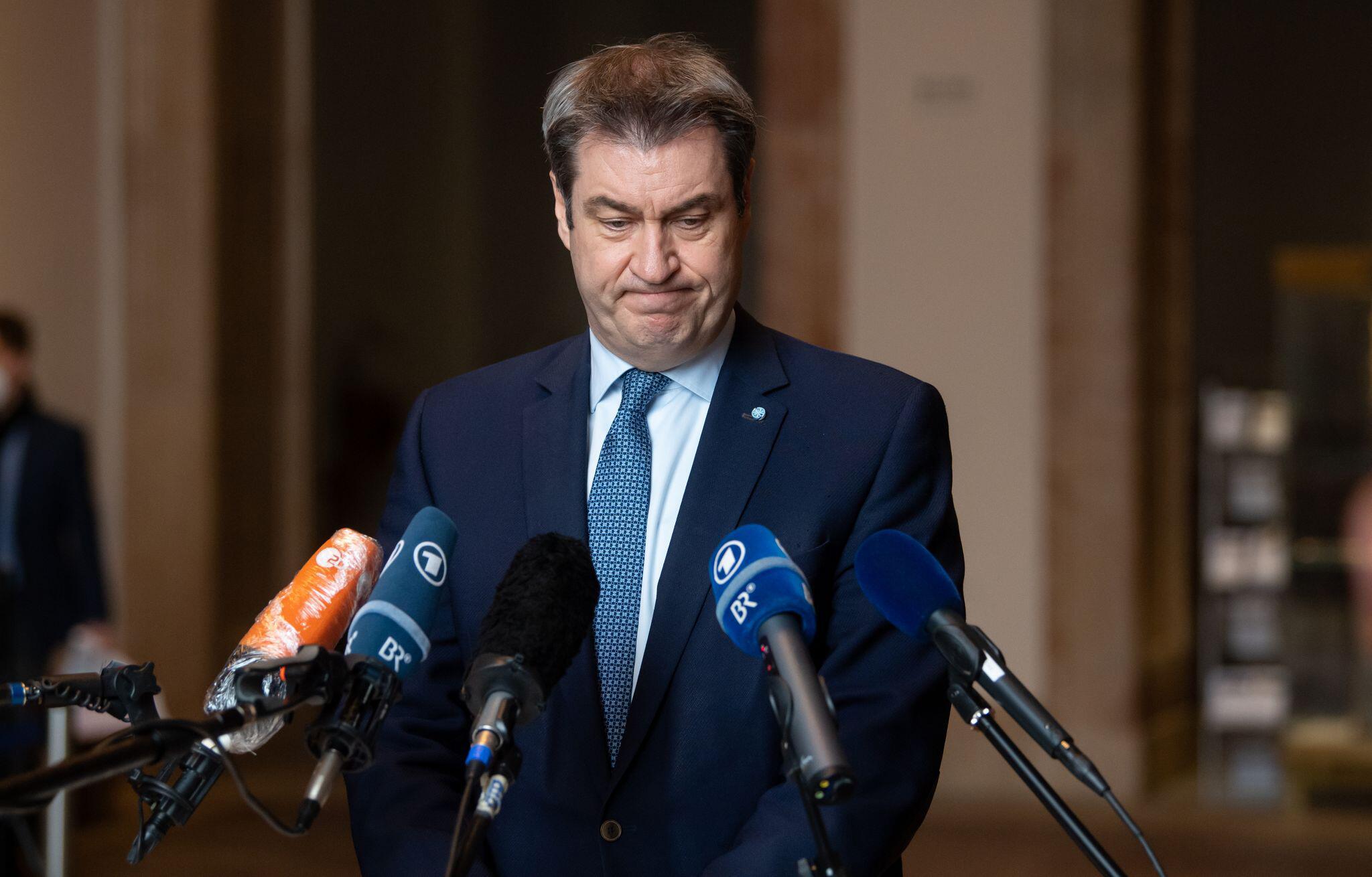 Corona-Maskenaffäre: Markus Söder kündigt scharfe Regeln in der CSU an