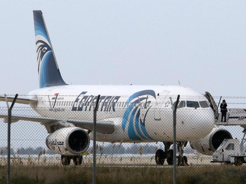 Bild zu EgyptAir-Maschine auf Zypern