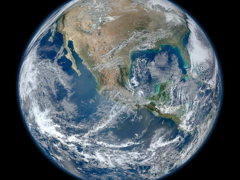 Bild zu Die Erde
