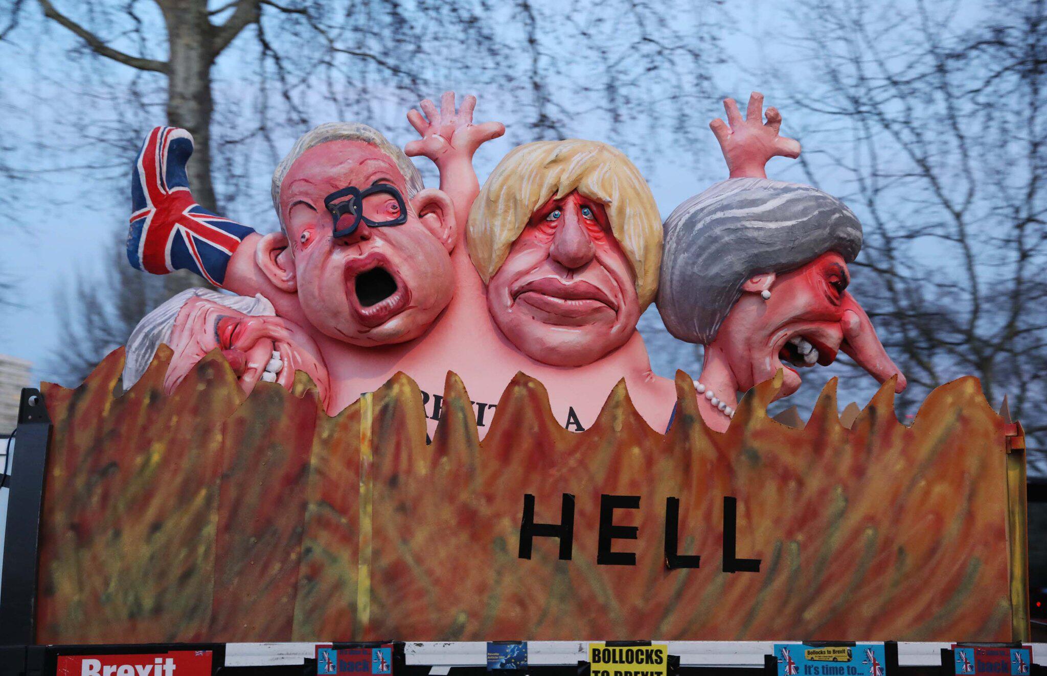 Großbritannien - Britische Minister drängen auf mögliche Brexit-Verschiebung