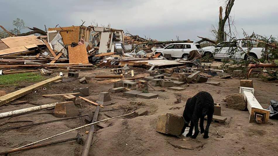 USA, Tornado, Schaden