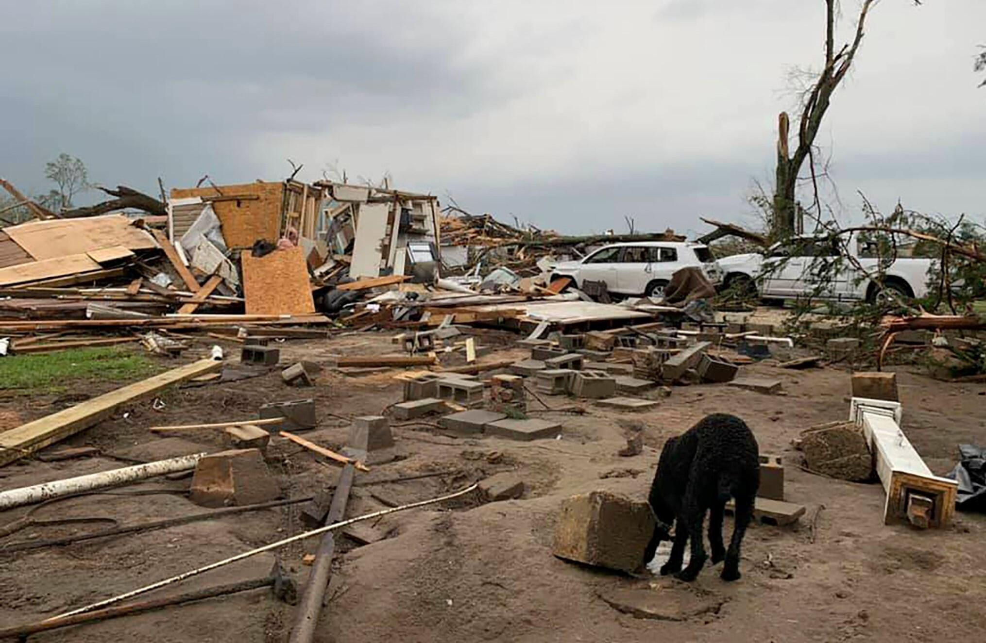 Bild zu USA, Tornado, Schaden
