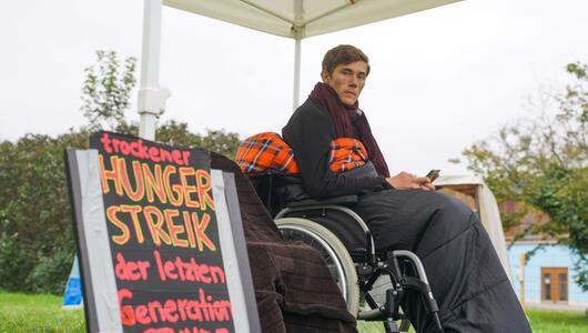 Hungerstreik zweier Klimaaktivisten in Berlin