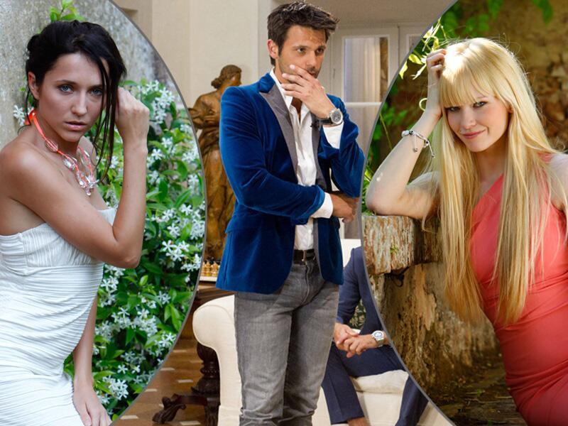 Bild zu Anastasiyas (l.) Sex-Geheimnis fliegt auf und Chris und Doris sind ein Paar.