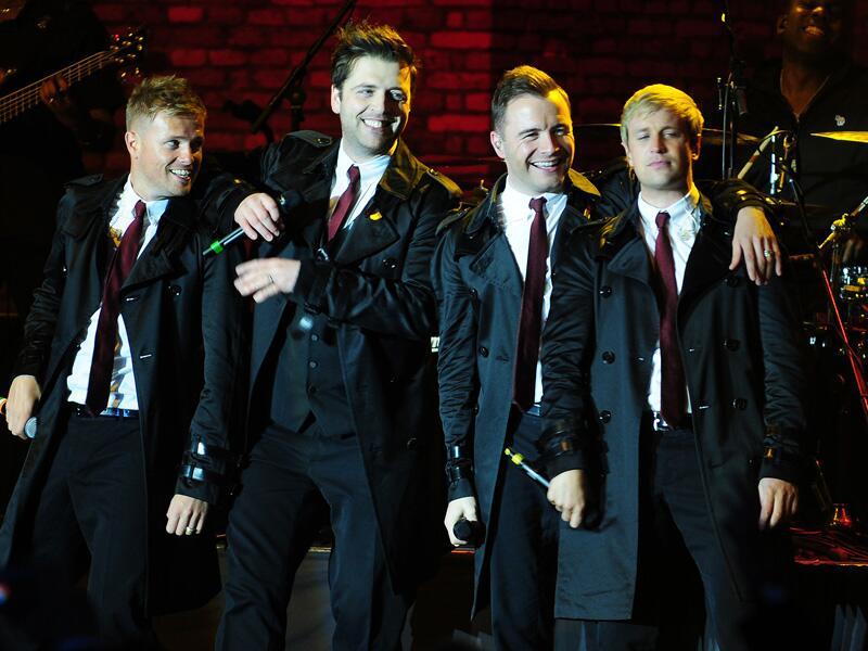 Bild zu Westlife beim Konzert in London