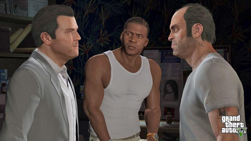 Bild zu GTA-5-Trio: Michael, Franklin und Trevor