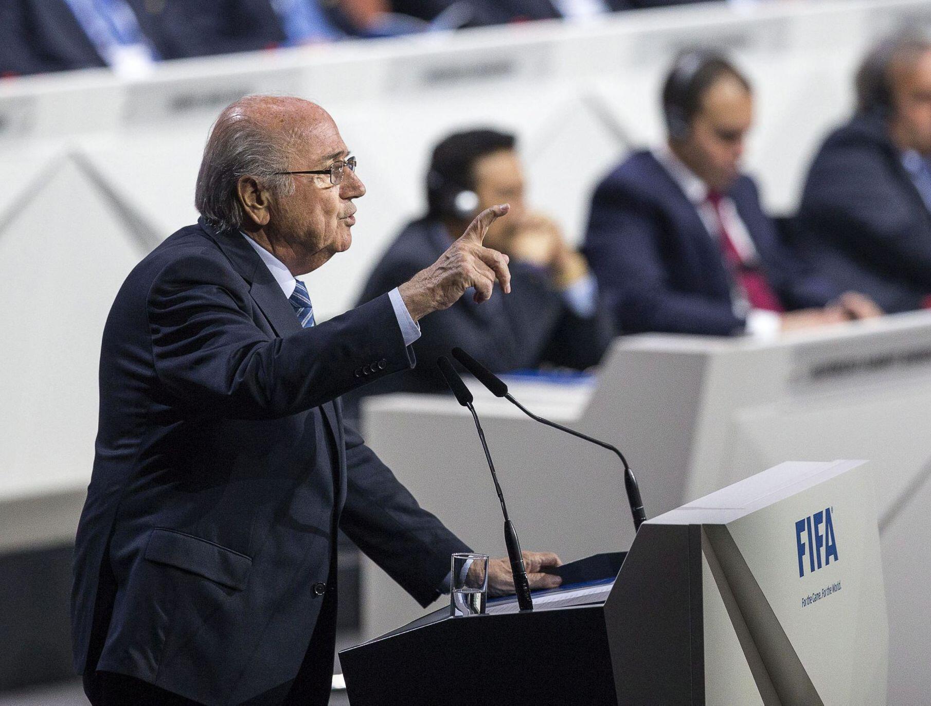 Bild zu Sepp Blatter