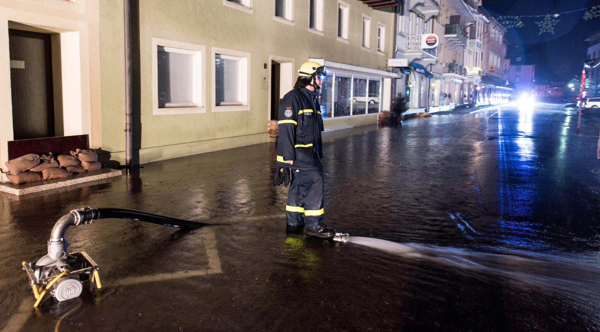 Bild zu Hochwasser in St. Blasien