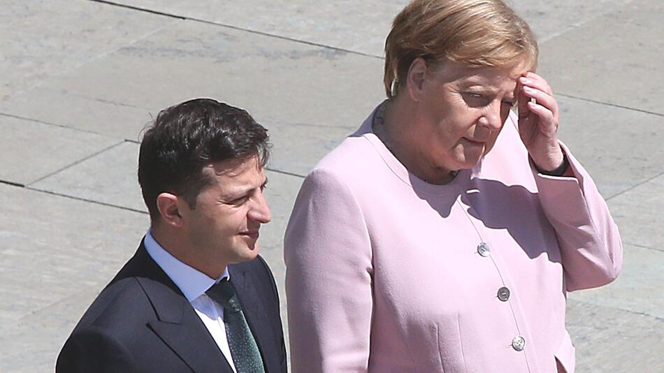 Ukrainischer Präsident Selensky in Berlin
