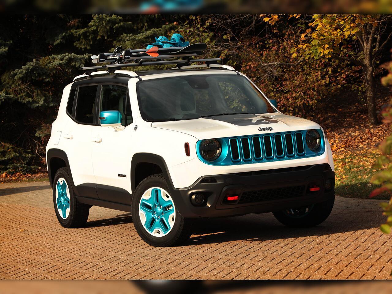 Bild zu Jeep Renegade Frostbit