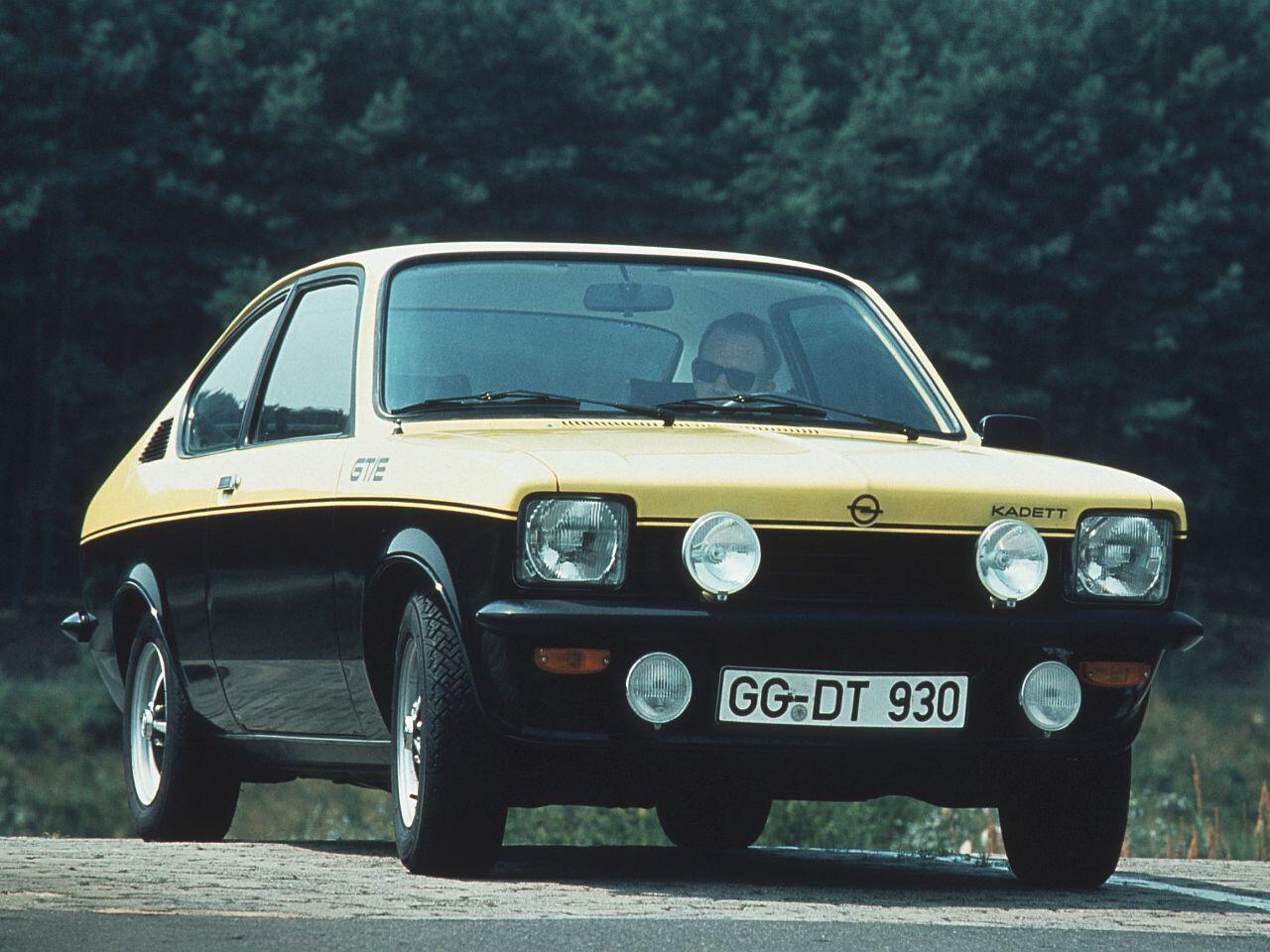 Bild zu Opel Kadett Coupe