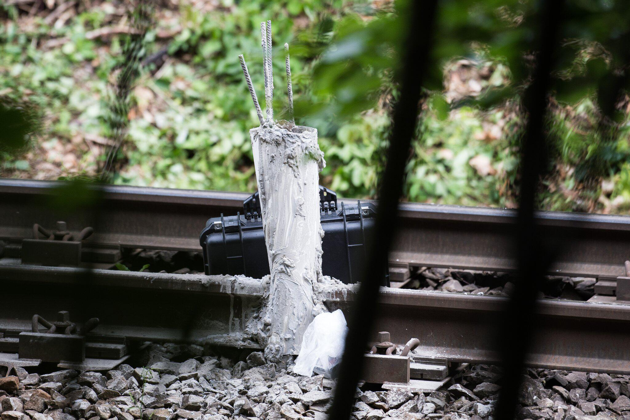 Bild zu Anschlag auf Bahnstrecke im Harz