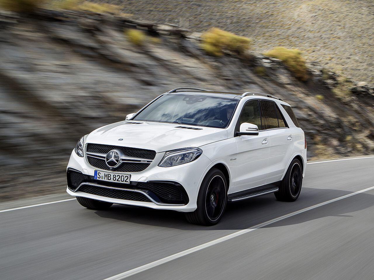 Bild zu Mercedes AMG GLE 63 S