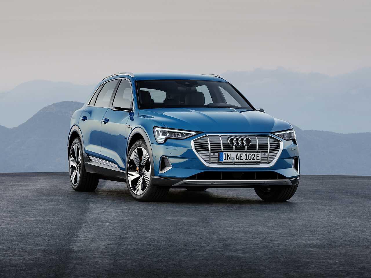Bild zu Der neue Audi e-tron: So edel ist das vollelektrisches Oberklasse-SUV