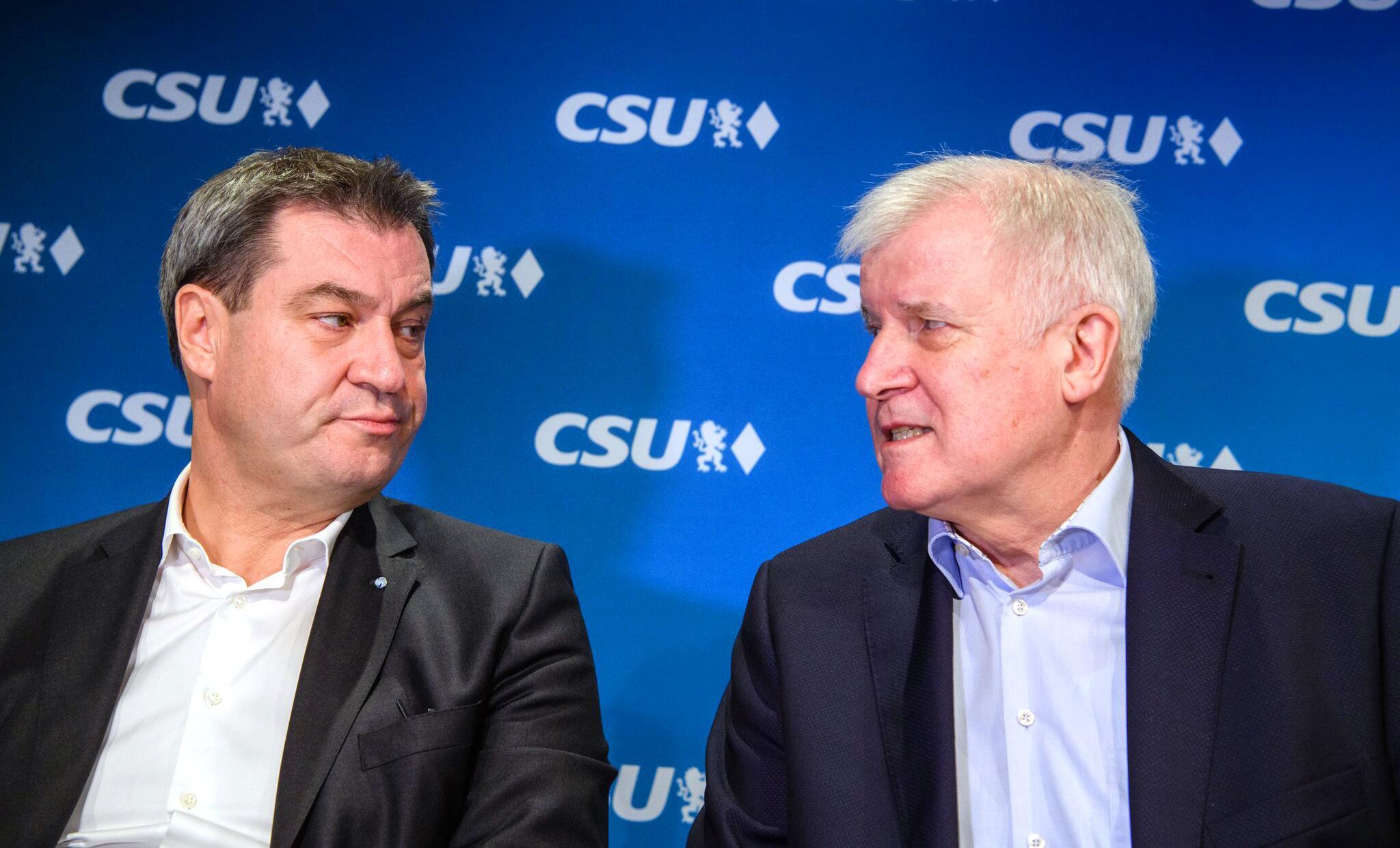 Bild zu CSU executive and faction discuss coalition agreement