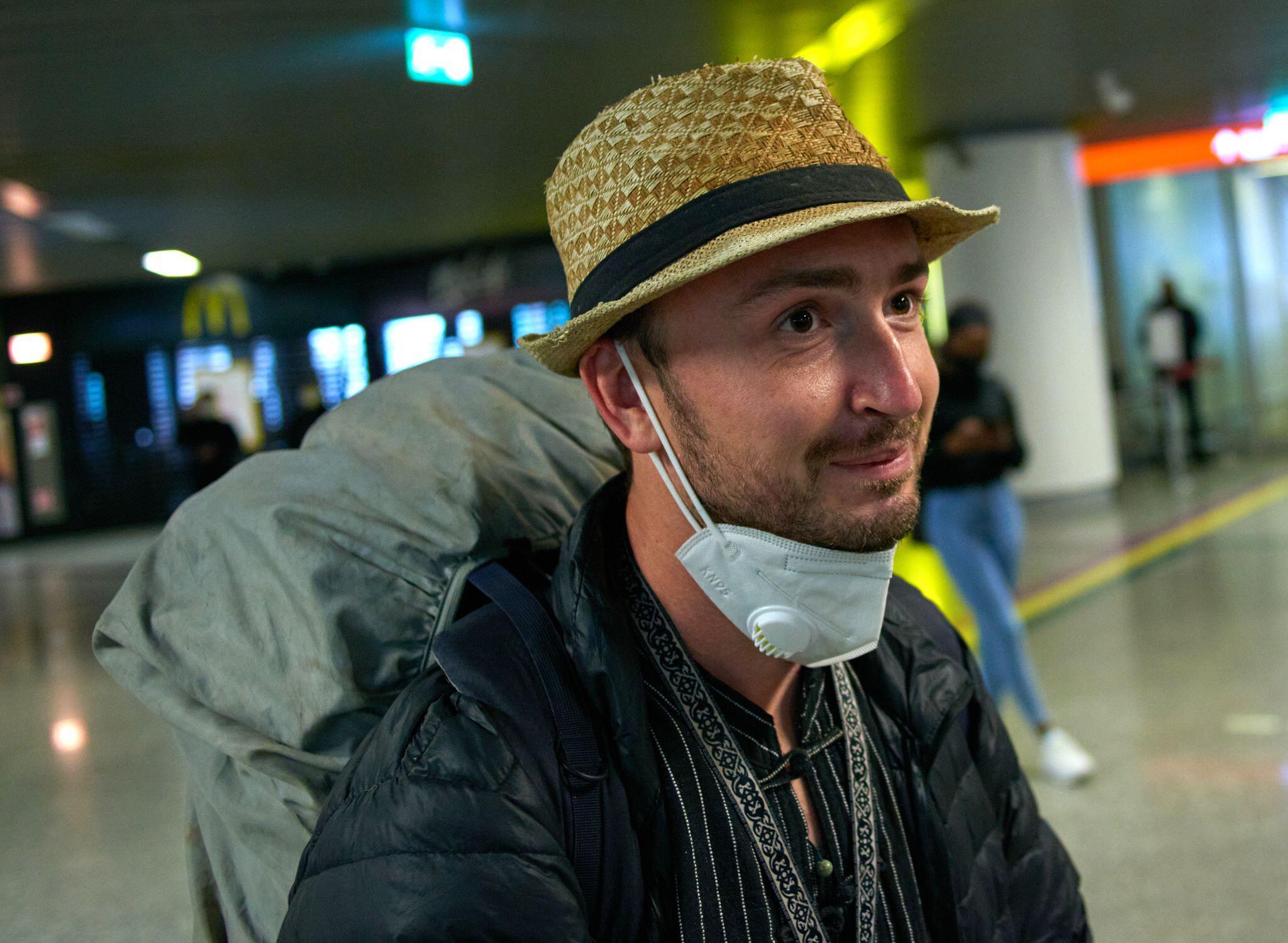 Bild zu Inhaftierter Journalist Robert Bociaga in Polen gelandet