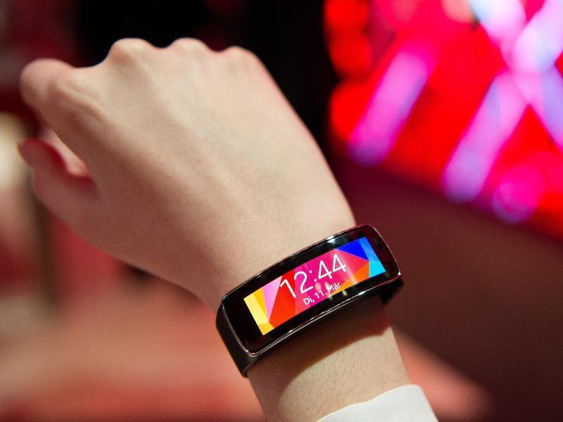Bild zu Samsung-Uhr Gear Fit