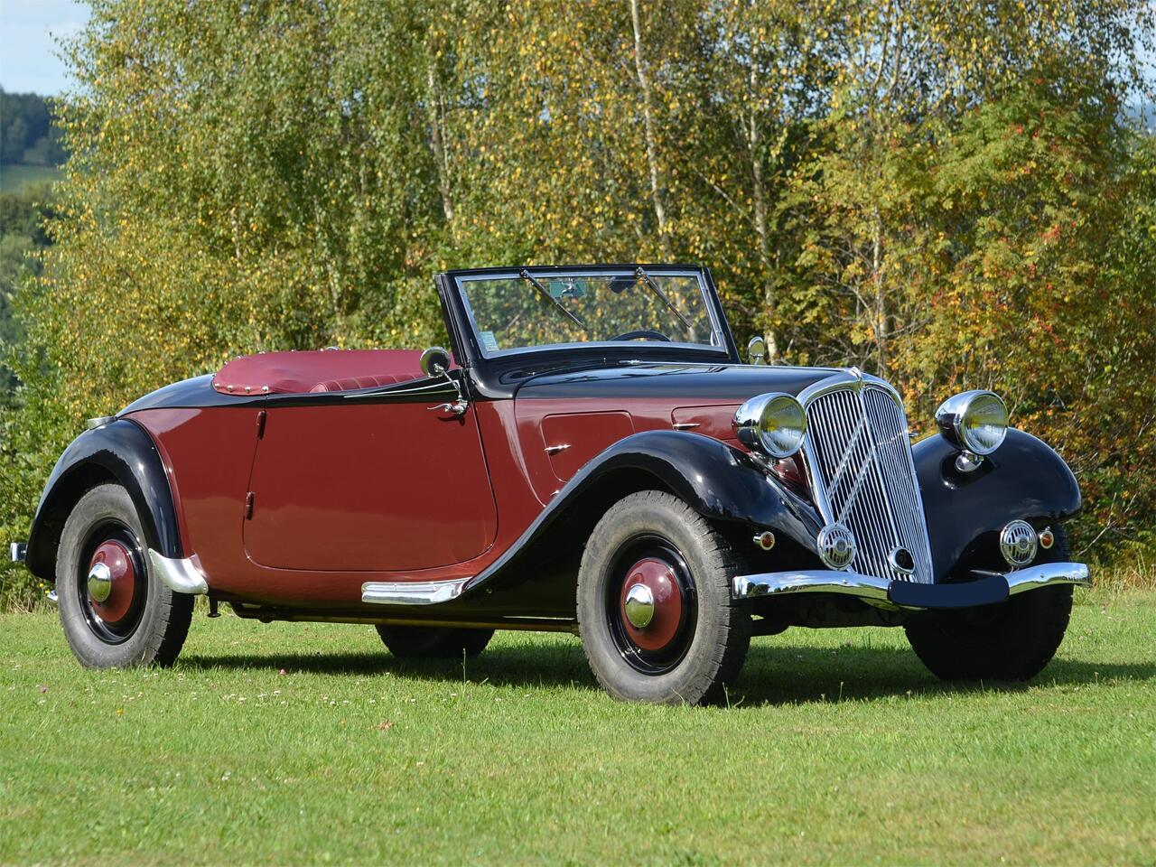 Bild zu Citroën Traction 7B Cabriolet (1934)