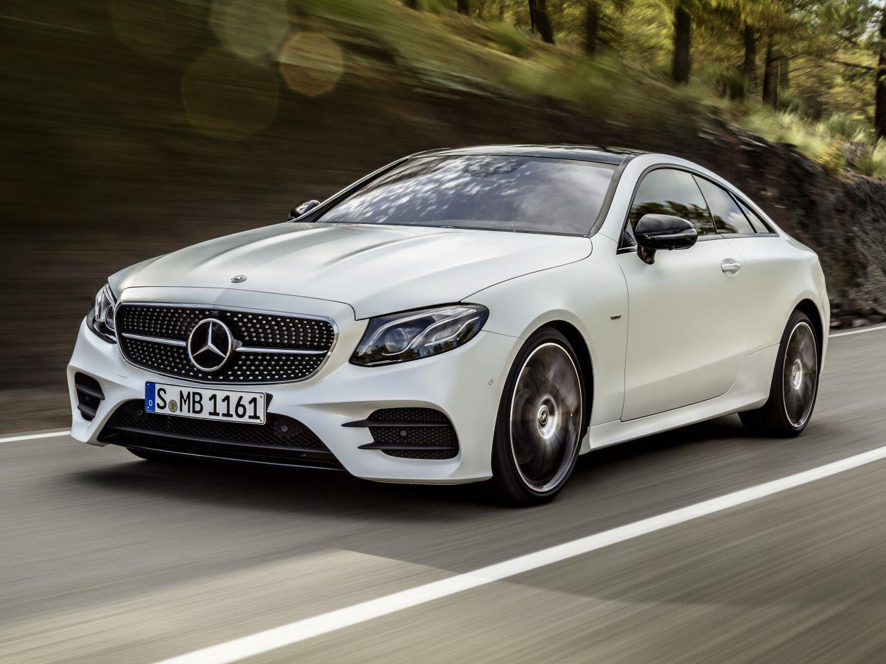 Bild zu 1. Platz Sportwagen: Mercedes E-Klasse Coupé