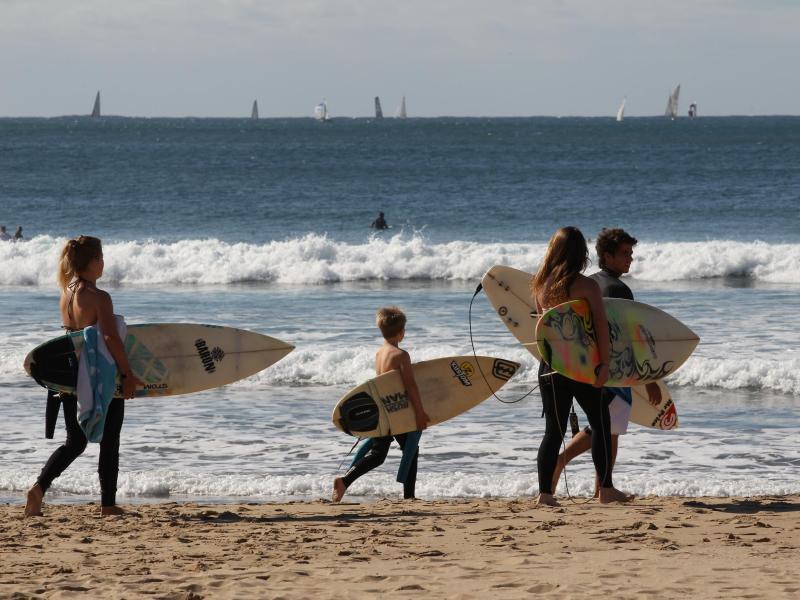 Bild zu Urlauber in Durban