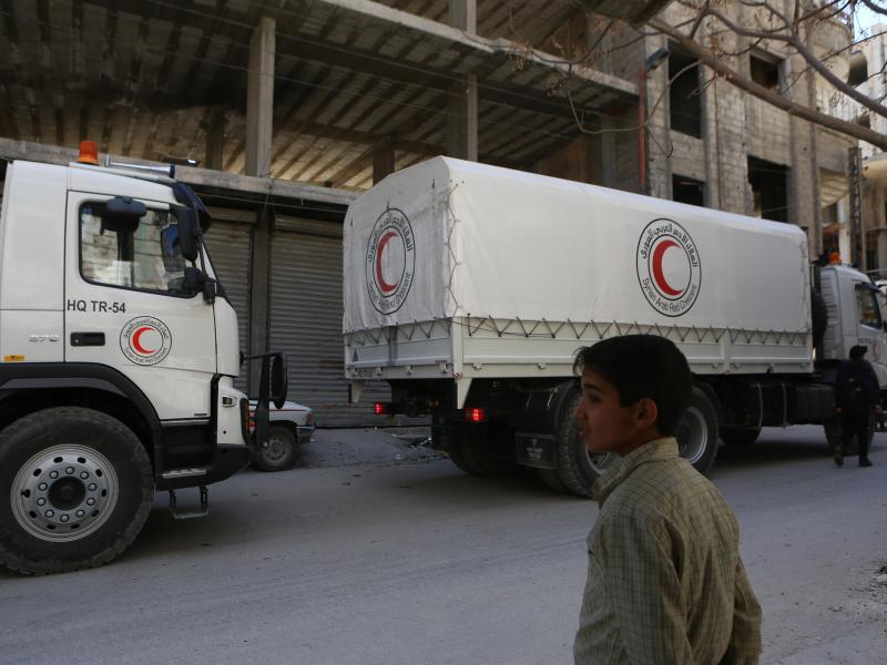 Bild zu Konflikt in Syrien