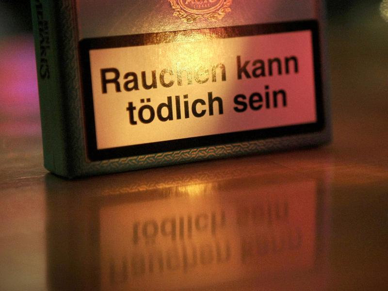 Bild zu Gefahr durch Rauchen