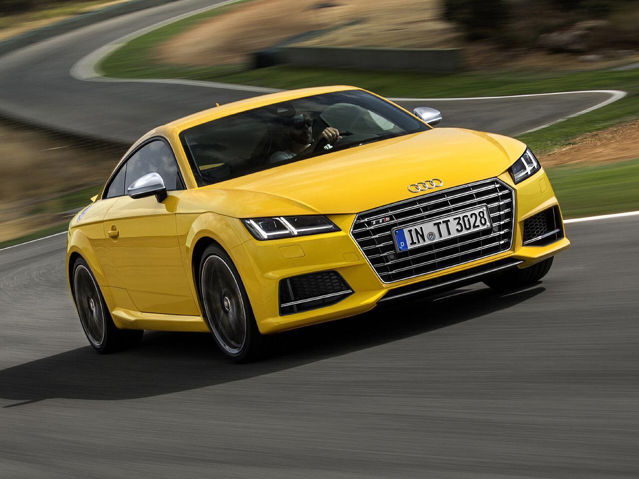 Bild zu 3. Platz Sportwagen: Audi TT