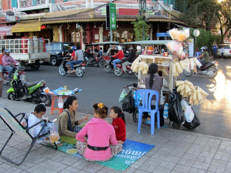 Bild zu Straße in Phnom Penh