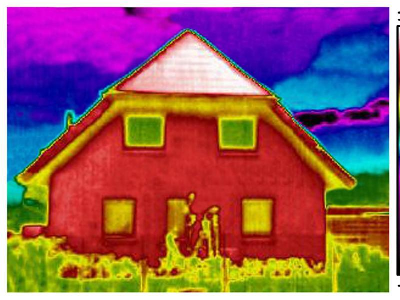 thermographiebilder vom haus im winter machen lassen web de. Black Bedroom Furniture Sets. Home Design Ideas