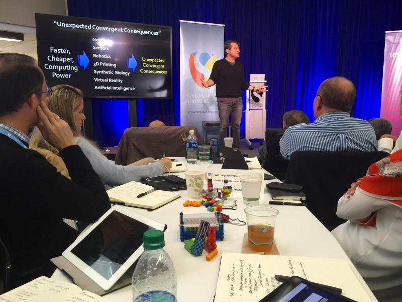 Bild zu «Executive Program» an der Singularity University