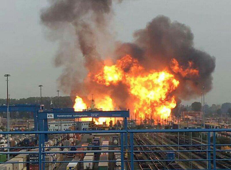 Bild zu Explosion bei BASF